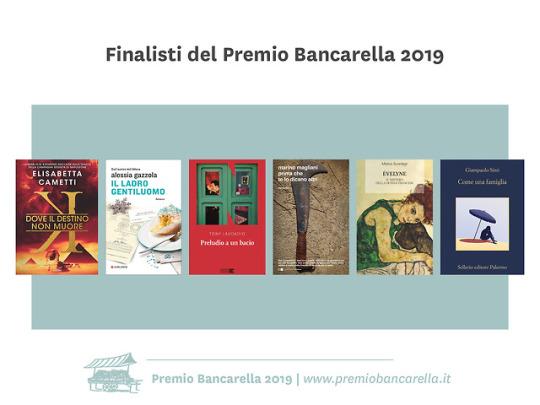 premio bancarella 2019 - sei finalisti