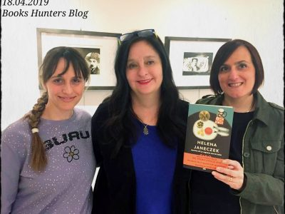 Helena Janeczek e Le Books Hunters