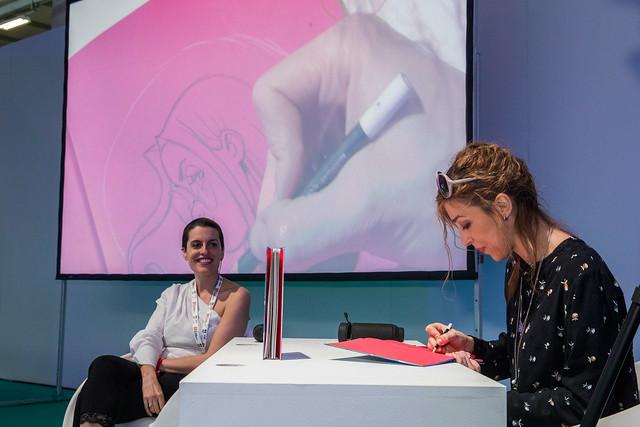 Licia Troisi e Arianna Rea al Salone del 12 maggio 2019