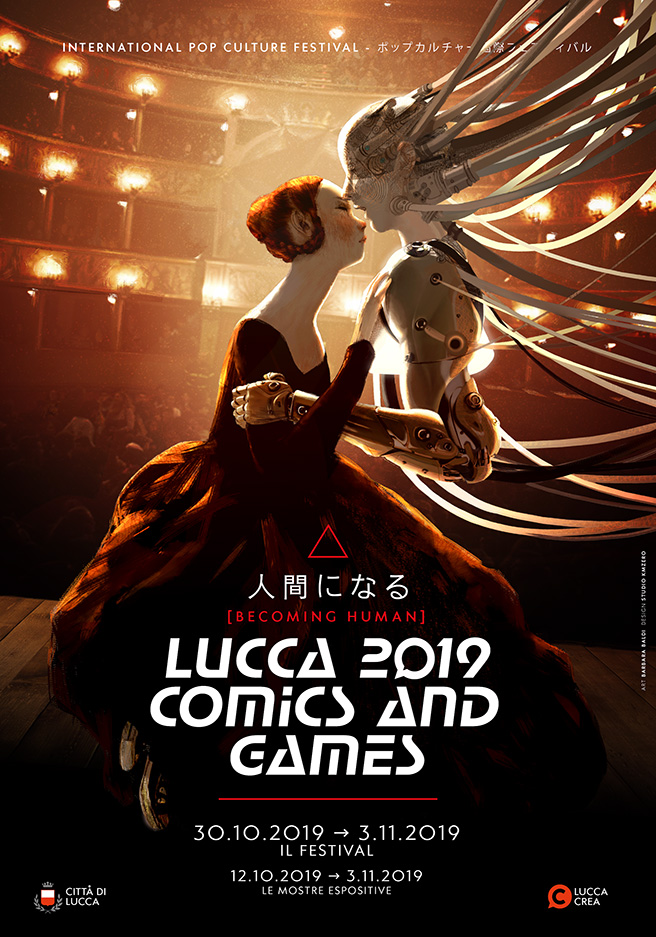 Lucca Comics & Games 2019 - Becoming Human