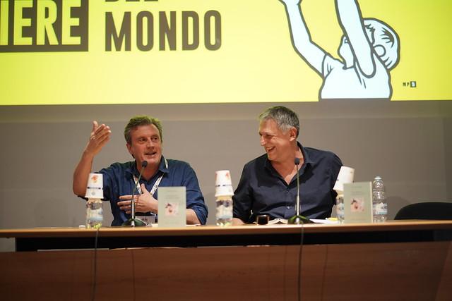 Antonio Manzini al Salone dell'11 maggio 2019