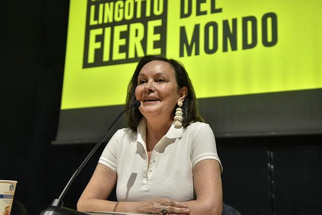 Clara Sánchez al Salone del 12 maggio 2019