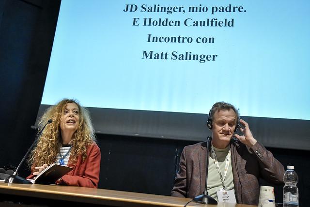 Matt Salinger al Salone dell'11 maggio 2019