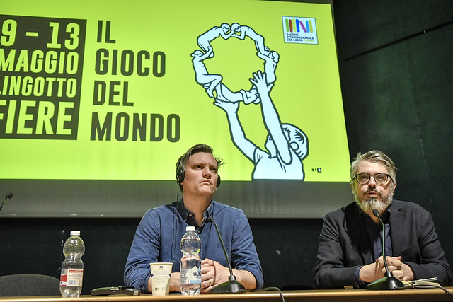 Mark O'Connell al Salone dell'11 maggio 2019