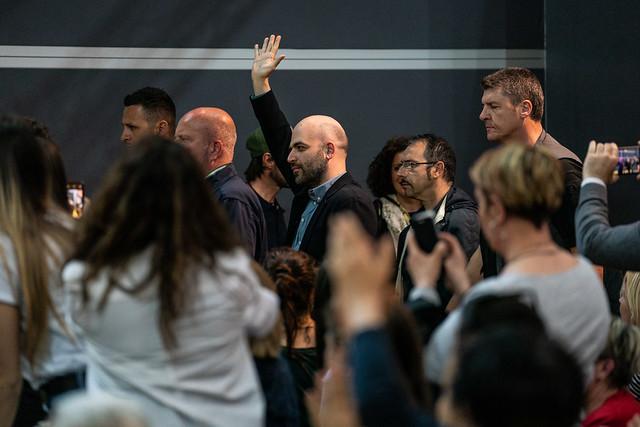 Roberto Saviano al Salone dell'11 maggio 2019