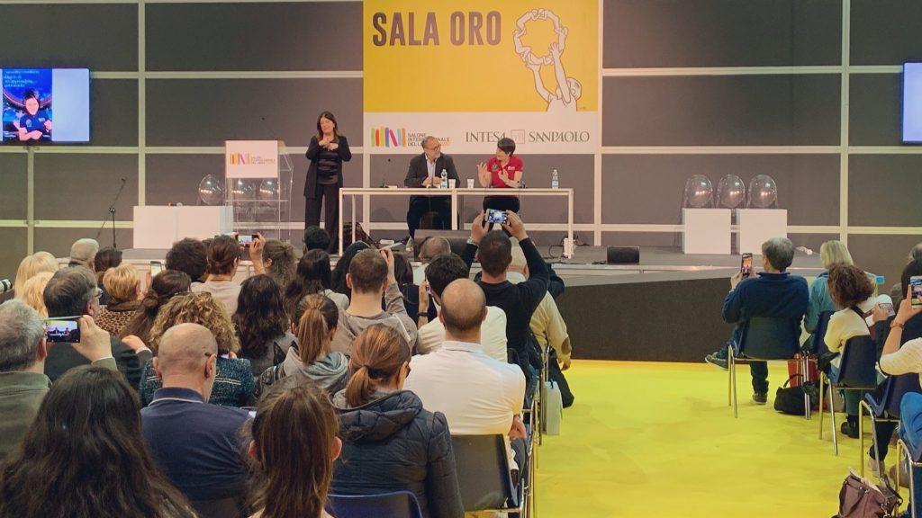 Samantha Cristoforetti al Salone del 9 maggio 2019