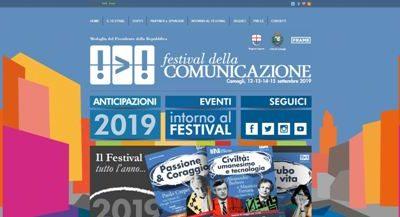 festival della comunicazione - manifesto 2019