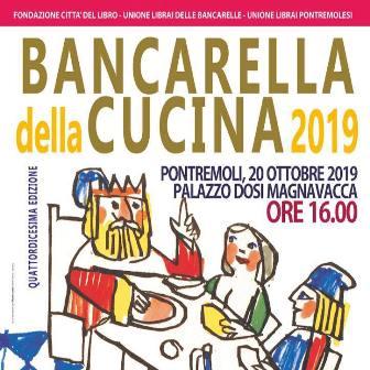 premio bancarella della cucina 2019 - manifesto