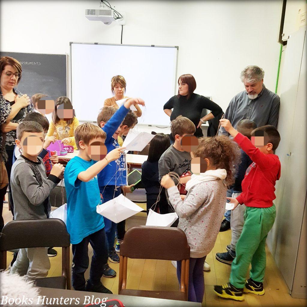 Bambini e laboratorio Leonardo da Vinci 1
