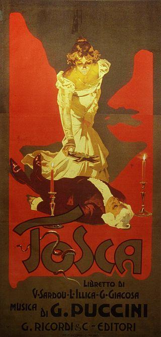 14 gennaio 1900, Tosca di G. Puccini