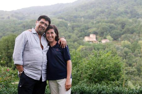 Luis Sepúlveda e Ilide Carmignani