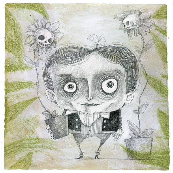 Nicola Lucchi - illustrazione di Stefano Bessoni
